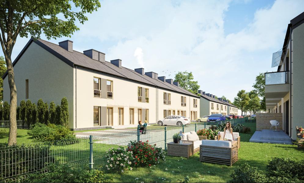 TYCZYN  - Mieszkania w zabudowie szeregowej