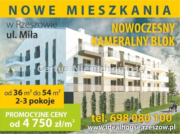 Mieszkania MIŁA - nasza nowa inwestycja !